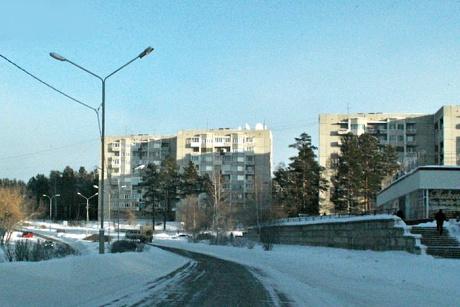 В Саянске. Фото Маргариты Романовой