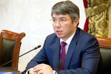 Алексей Цыденов. Фото с сайта www.mintrans.ru