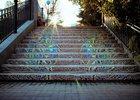 Мозаичная лестница. Фото пресс-службы администрации Иркутска