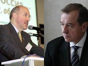 Дмитрий Мезенцев, Сергей Левченко. Коллаж IRK.ru