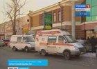 Машины скорой помощи и правоохранительных органов. Фото пресс-службы ГУВД Иркутской области, с сайта Вести-Иркутск