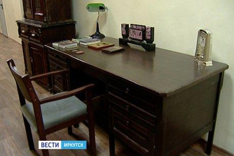 Стол писателя. Фото «Вести-Иркутск»