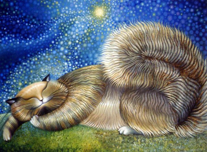 «Сон в летнюю ночь» — эта картина висит в спальне Аси