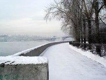 Набережная Ангары. Фото с сайта www.fichter.ru