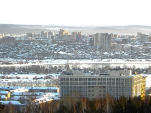 Академгородок. Фото Юрия Орлова