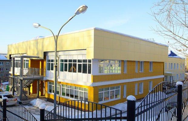 Здание детского сада № 179 в Иркутске. Автор фото — Александр Шудыкин