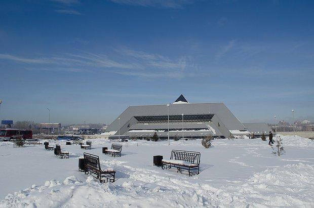 Ледовый дворец. Фото из архива ИА «Иркутск онлайн»