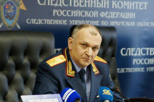 Андрей Бунёв. Фото пресс-службы СУ СКР по Иркутской области