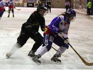 Женский хоккей с мячом. Фото с сайта www.bandynet.ru