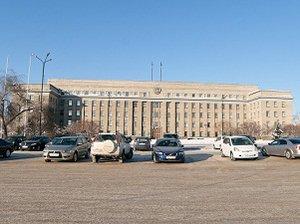 Здание правительства Иркутской области. Фото Владимира Смирнова