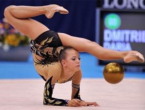 Гимнастка Дарья Дмитриева. Фото с сайта www.olimpiadi.blogosfere.it