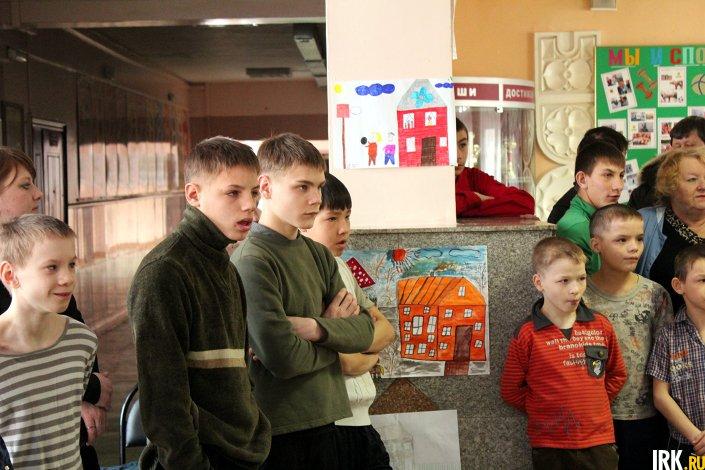 В Иркутском детском доме-интернате № 1 для умственно отсталых детей. Фото IRK.ru