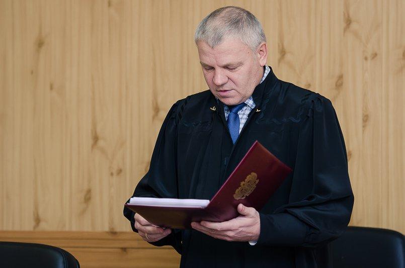 Судья Павел Носков оглашает приговор