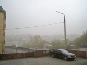 Ветер в Иркутске. Фото IRK.ru