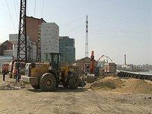 На строительной площадке. Фото АС Байкал ТВ