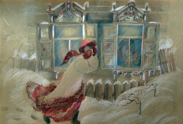 «Ветер», серия «Иркутские листочки»
