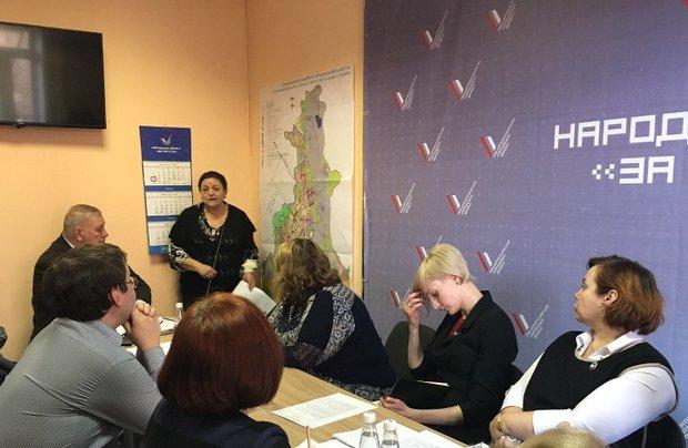 Заседание рабочей группы. Фото регионального отделения ОНФ