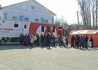 Мобильный пункт сдачи крови. Фото из архива АС Байкал ТВ