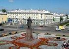 Площадь Ленина в Ангарске. Фото Живой Ангарск.