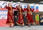 Выступление танцевального коллектива. Фото репортажной группы NDV.