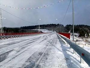 Мост через реку Лену. Фото Вести.ру.