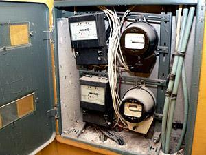 Счетчики электроэнергии. Фото Инфопортал.