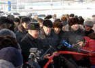 Церемония открытия моста. Фото репортажной группы NDV.