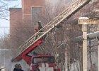 Тушение пожара. Фото пресс-службы МЧС по Иркутской области.