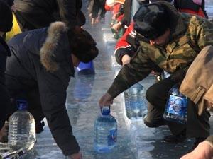 Праздник Крещения в Иркутске. Фото КП-Иркутск.