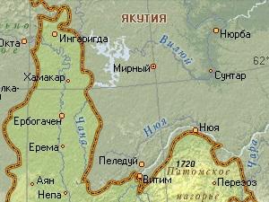 Границы между Иркутской областью и Якутией. Фото с сайта irucz.ru.