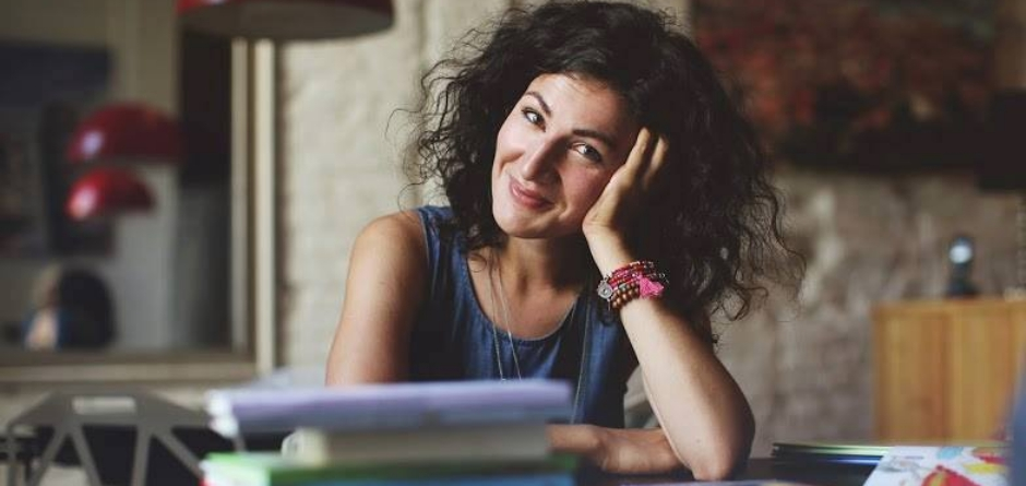 Мария Орлова, участница Международного книжного фестиваля в Иркутске. Фото с сайта www.irkniga.ru