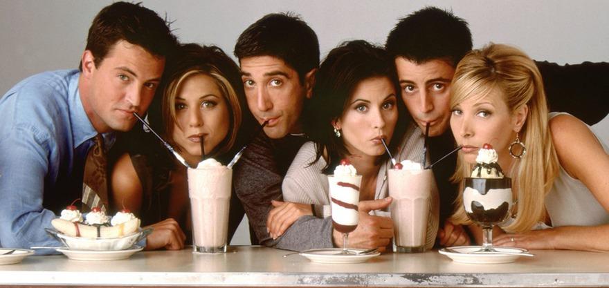 Актёры сериала «Друзья». Фото с сайта megafon.tv