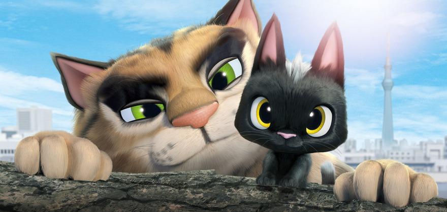Постер мультфильма «Жил-был кот». Фото с сайта Kinopoisk.ru