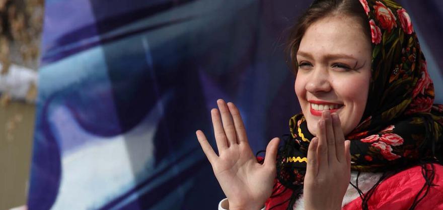 Масленица в усадьбе Волконских. Фото с сайта vk.com/irkmuzejdekabristov