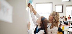 «Школа должна не только вкладывать в ребенка знания, но и воспитывать в нем личность»