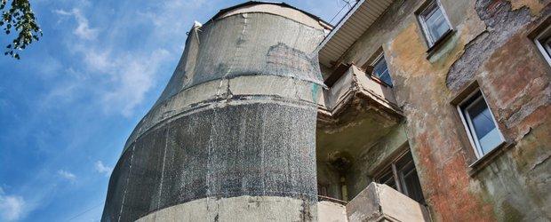Жильцам дома НКВД предложили восстановить фасад самостоятельно