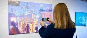 Иркутск под водой и в руинах от художника Степана Шоболова