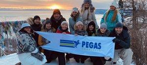 PEGAS Touristik показал красоты зимнего Байкала турагентам России
