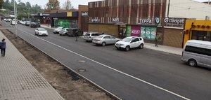 Улицу Горную в Иркутске ремонтируют с приоритетом для пешеходов