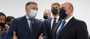 Михаил Мишустин осмотрел строящийся медицинский центр во Втором Иркутске