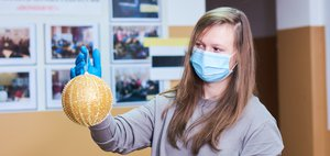 Праздничное настроение для врачей. Иркутяне присоединились к акции #СновымГодомДоктор