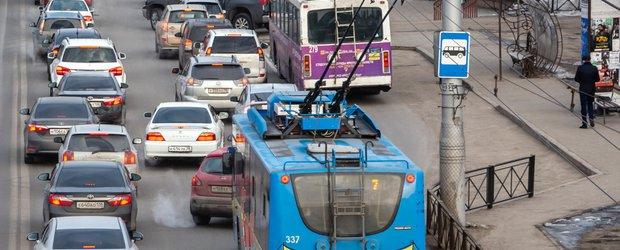 Трамвай, велосипеды и каршеринг. Как избавиться от заторов на дорогах Иркутска