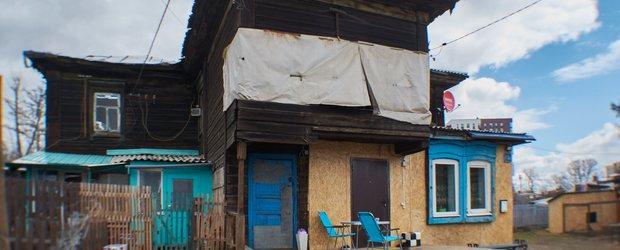 В Иркутске жильцы двухэтажного дома с рухнувшим потолком опасаются за свои жизни
