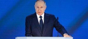 Что сказал Владимир Путин Федеральному Собранию. Краткая речь президента