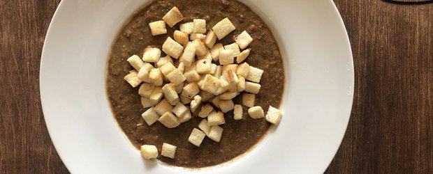 Чечевичный крем-суп со специями
