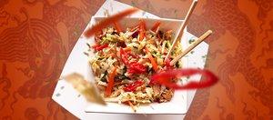Готовит Наташа: курица по-сычуаньски и азиатский салат