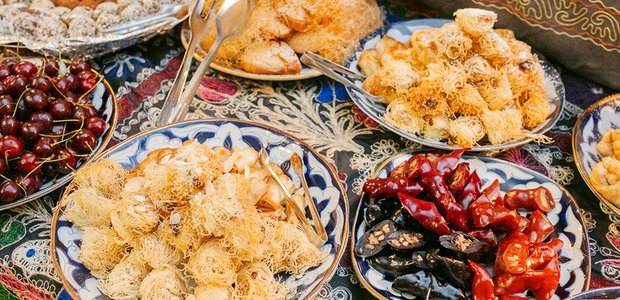 Салат-бар или щедрый бизнес-ланч в Узбекистоне