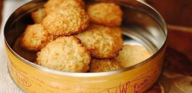 Экспресс-рецепт: кокосовое печенье