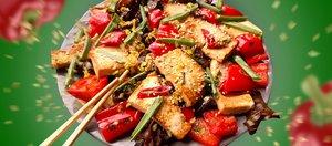 Готовит Наташа: тофу с овощами