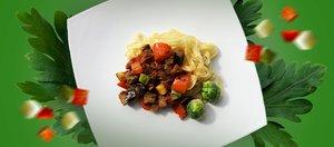 Готовит Наташа: быстрая паста с овощами